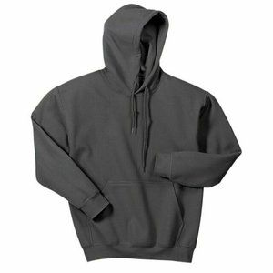 3XL Gildan Charcoal Grey Heavy Blend Hooded